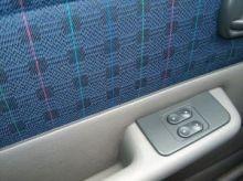Car door interior upholstery