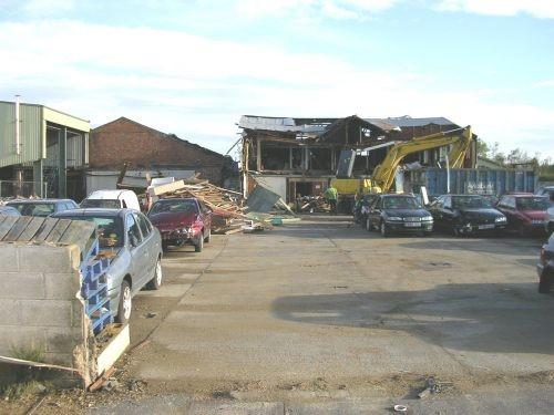 Old Oxford scrap yard site demolished
