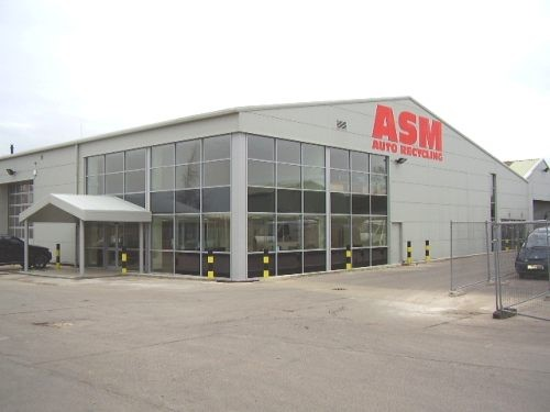 Thame Oxford ASM Auto Recycling completed