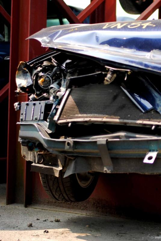 Scrap cat A insurance write-off car