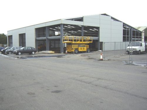 Oxford ASM Autos new site takes shape