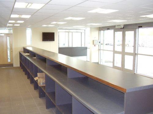 ASM Auto Recycling reception desk
